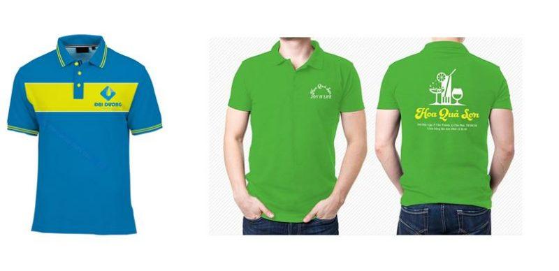 áo đồng phục in logo